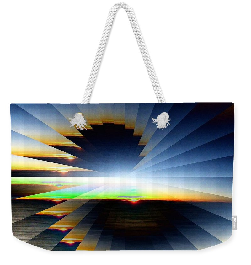 Sunrise Weekender Tote Bag featuring the photograph Sunrise At 30k 6 by Tim Allen