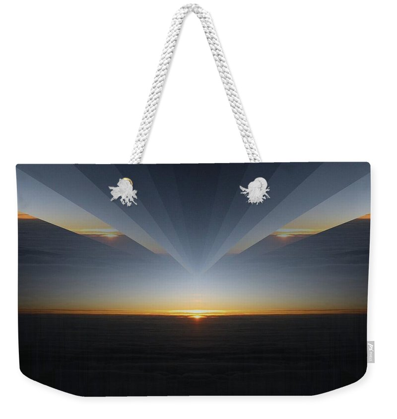 Sunrise Weekender Tote Bag featuring the photograph Sunrise At 30k 7 by Tim Allen