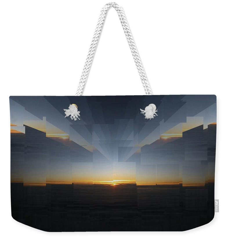 Sunrise Weekender Tote Bag featuring the photograph Sunrise At 30k 9 by Tim Allen