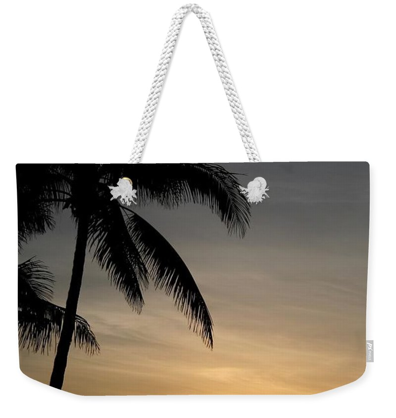 Sunrise Weekender Tote Bag featuring the photograph Sunrise In Florida / D by Robert Cerri