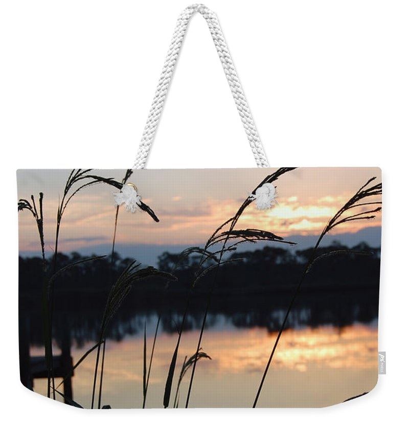 Sunrise Weekender Tote Bag featuring the photograph Sunrise In Grayton 3 by Robert Meanor