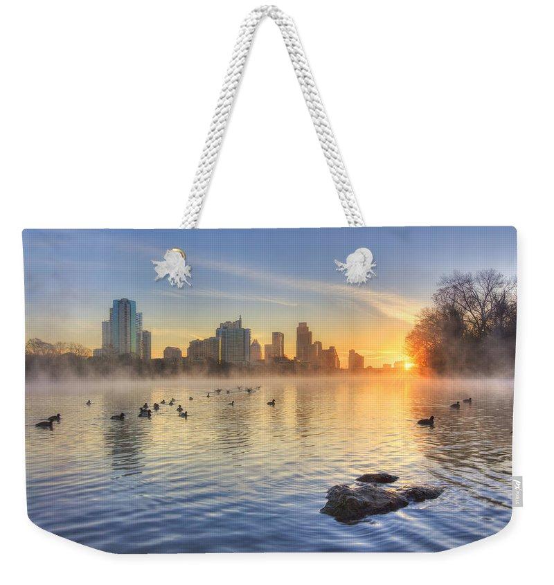 Austin Texas Weekender Tote Bags