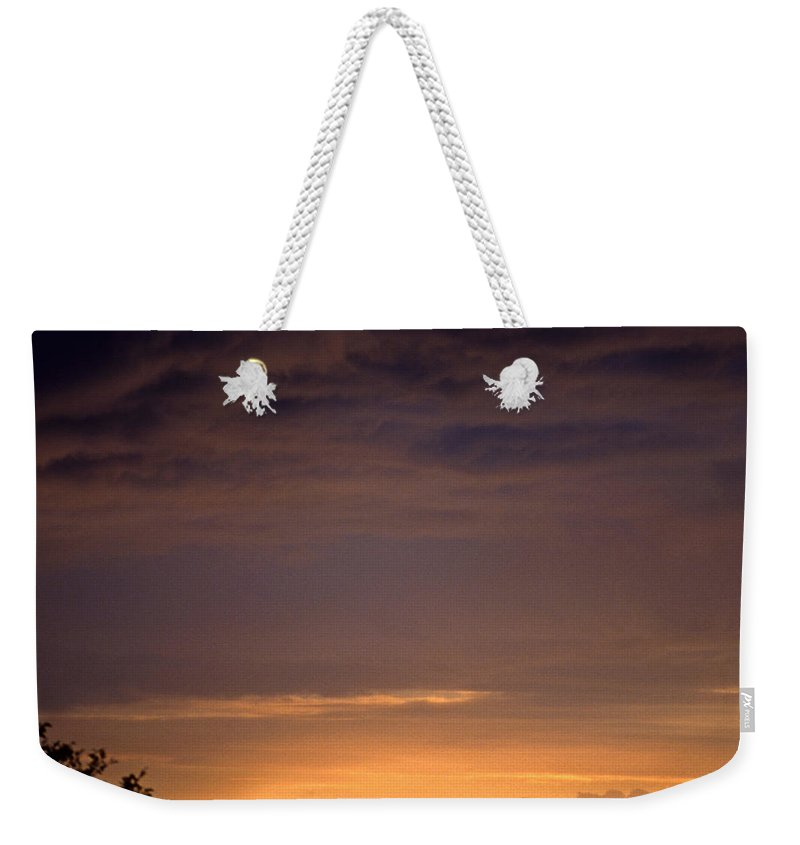 Landscape Weekender Tote Bag featuring the photograph Sunset 3 by Lee Santa