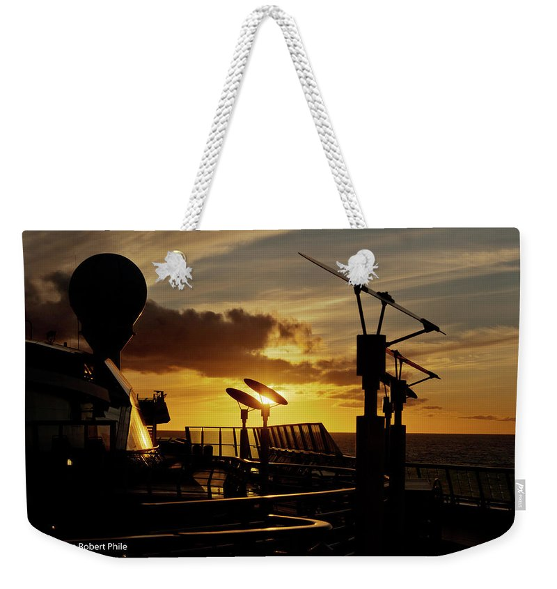 Cloud Weekender Tote Bag featuring the photograph Sunset - 39 by George Phile