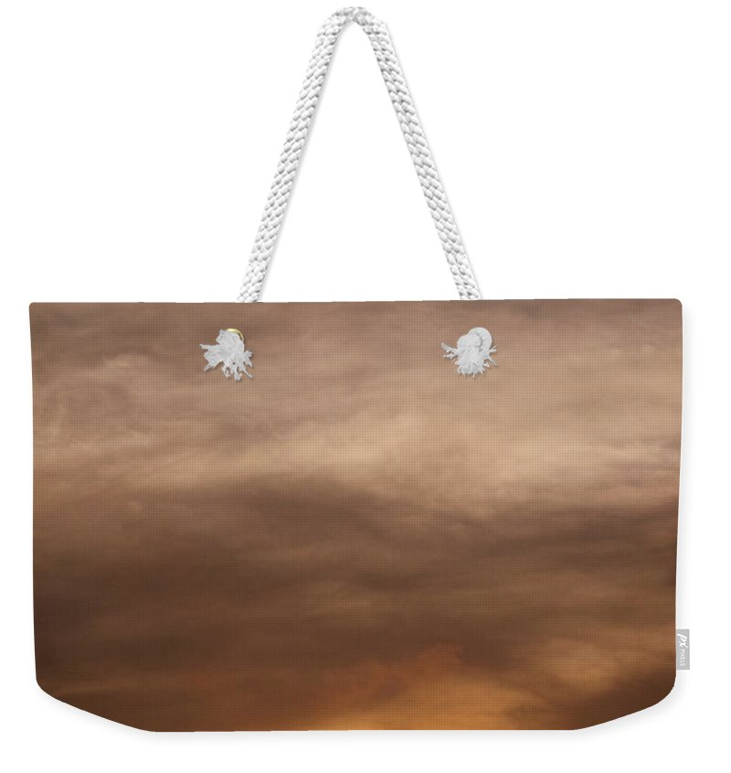 Ahuachapan Weekender Tote Bag featuring the photograph Sunset Ahuachapan 10 by Totto Ponce