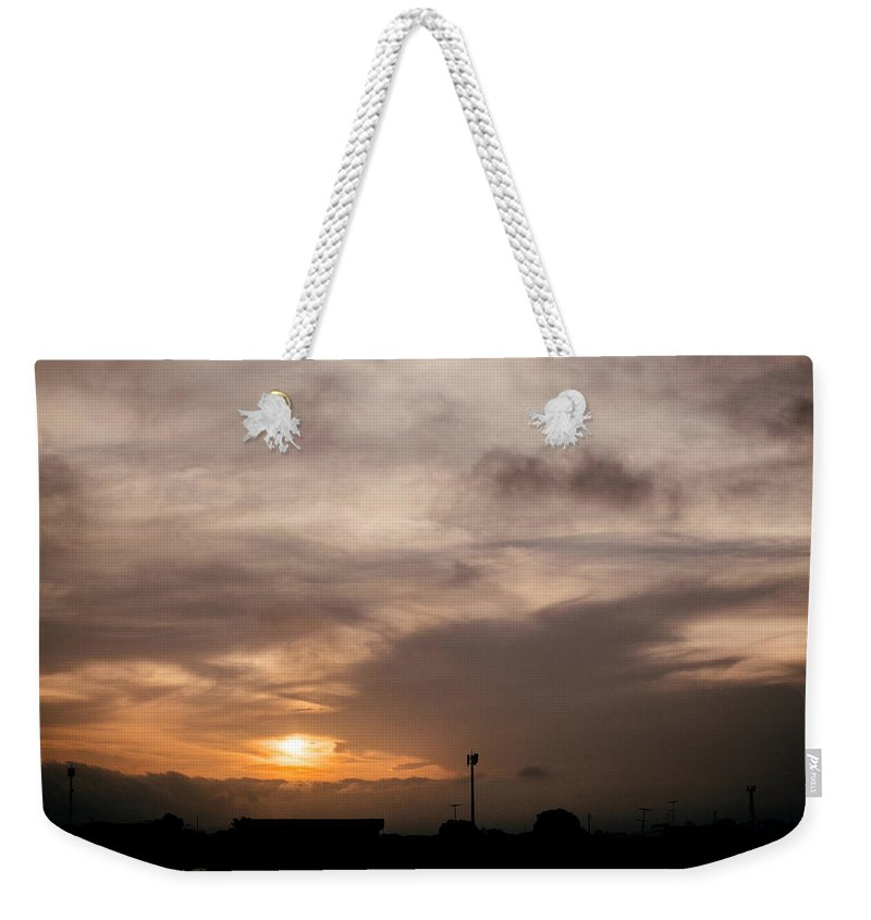 Ahuachapan Weekender Tote Bag featuring the photograph Sunset Ahuachapan 11 by Totto Ponce
