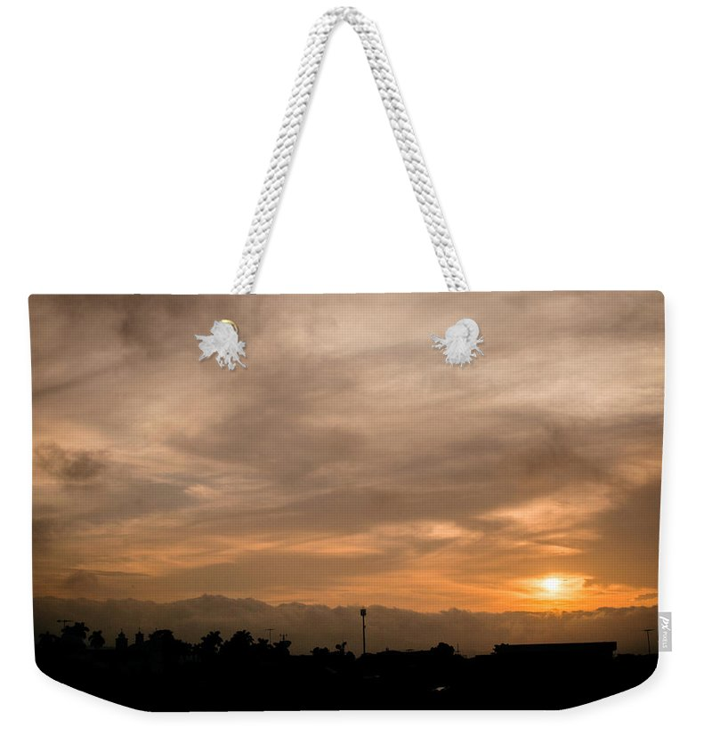 Ahuachapan Weekender Tote Bag featuring the photograph Sunset Ahuachapan 12 by Totto Ponce