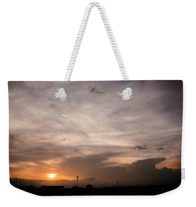 Ahuachapan Weekender Tote Bag featuring the photograph Sunset Ahuachapan 14 by Totto Ponce