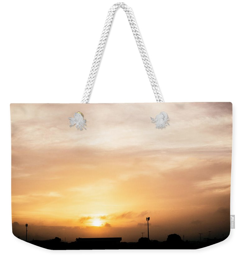 Ahuachapan Weekender Tote Bag featuring the photograph Sunset Ahuachapan 15 by Totto Ponce