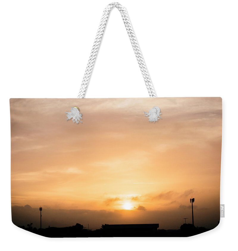 Ahuachapan Weekender Tote Bag featuring the photograph Sunset Ahuachapan 16 by Totto Ponce