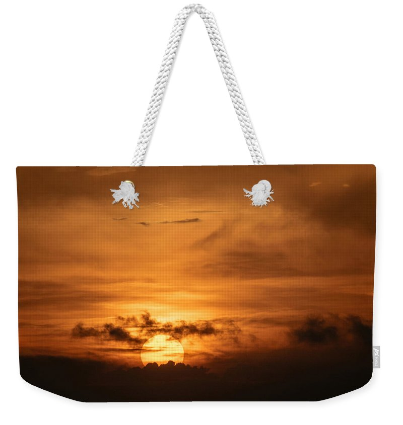 Ahuachapan Weekender Tote Bag featuring the photograph Sunset Ahuachapan 24 by Totto Ponce