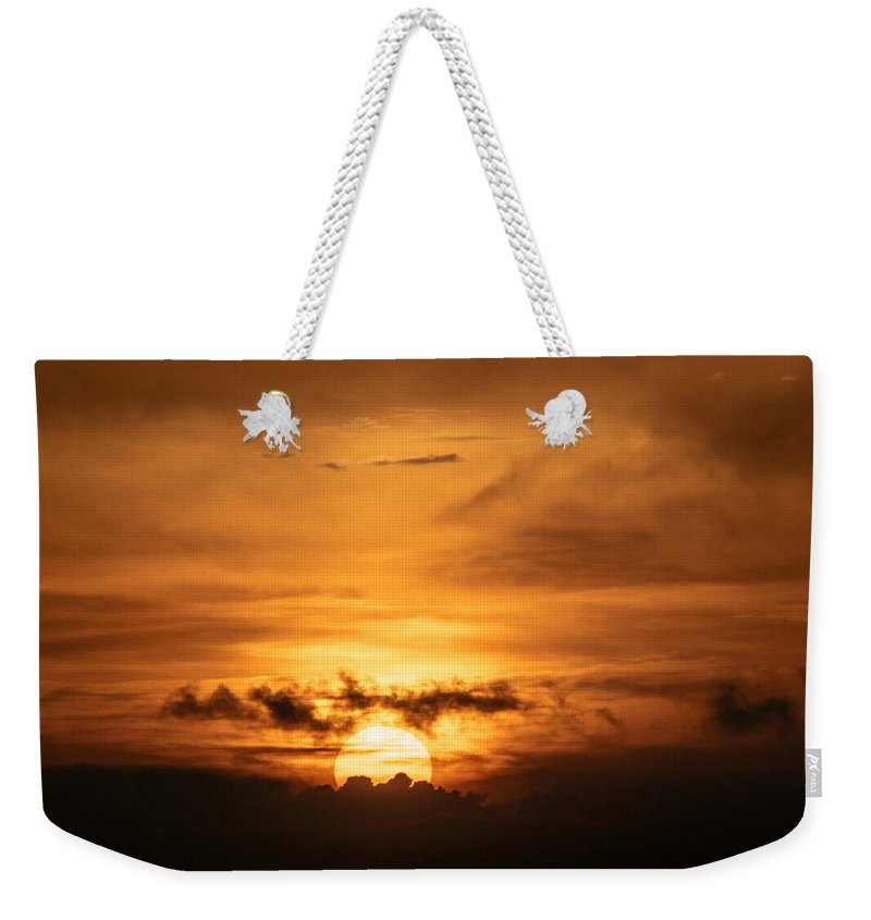 Ahuachapan Weekender Tote Bag featuring the photograph Sunset Ahuachapan 26 by Totto Ponce