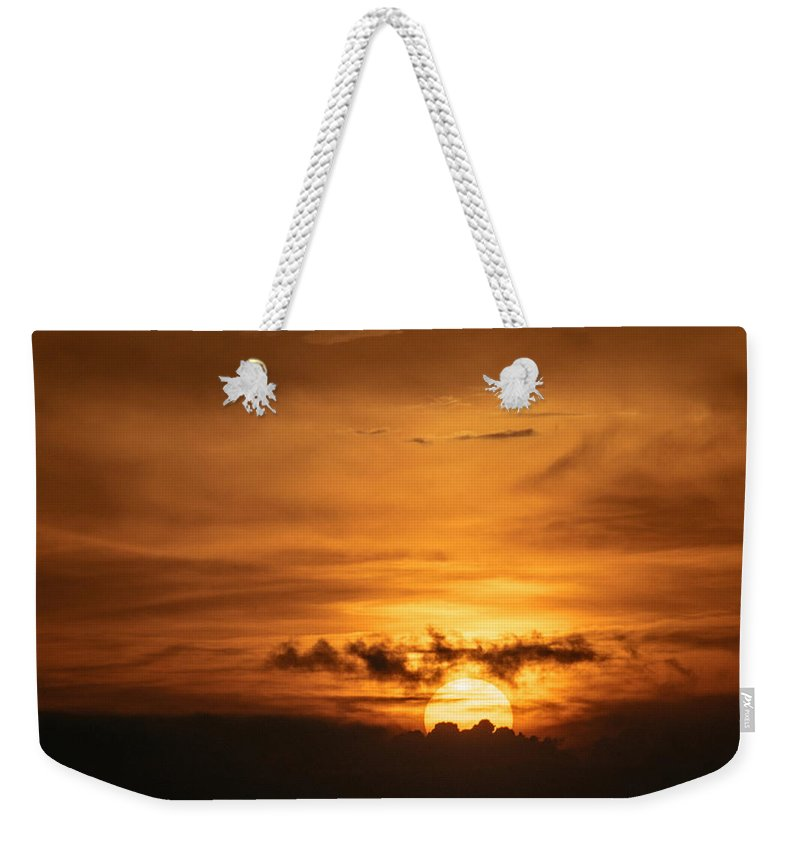 Ahuachapan Weekender Tote Bag featuring the photograph Sunset Ahuachapan 27 by Totto Ponce