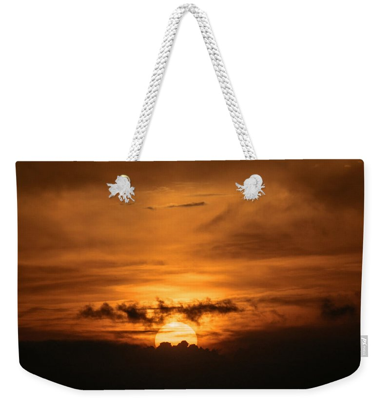 Ahuachapan Weekender Tote Bag featuring the photograph Sunset Ahuachapan 28 by Totto Ponce