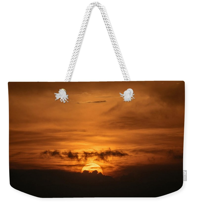 Ahuachapan Weekender Tote Bag featuring the photograph Sunset Ahuachapan 31 by Totto Ponce