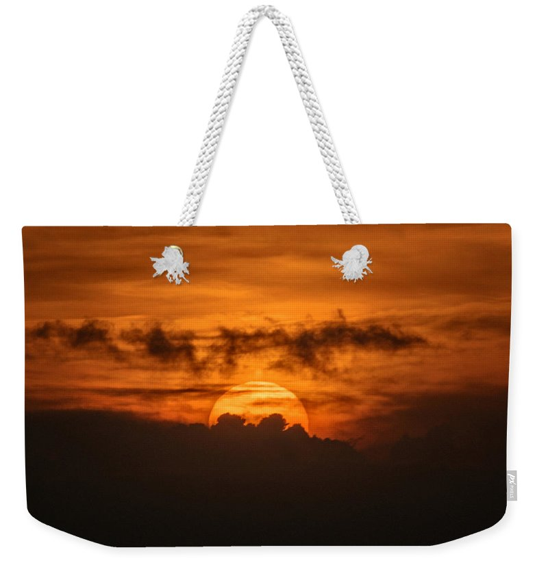 Ahuachapan Weekender Tote Bag featuring the photograph Sunset Ahuachapan 33 by Totto Ponce