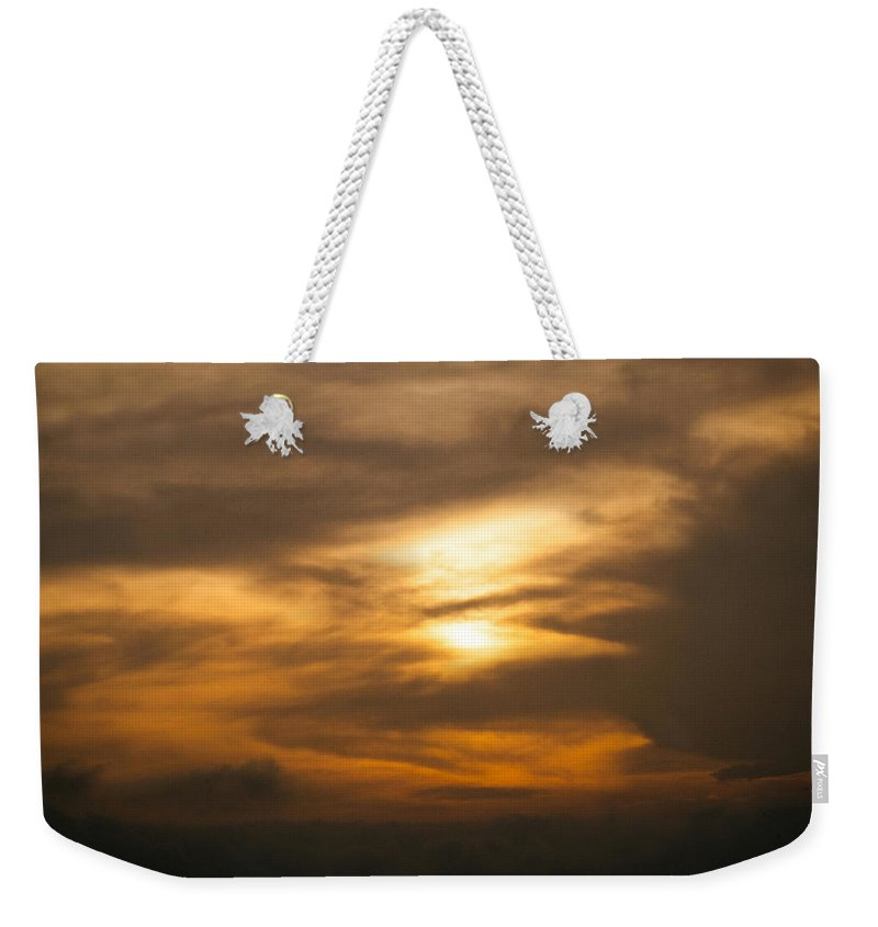 Ahuachapan Weekender Tote Bag featuring the photograph Sunset Ahuachapan 4 by Totto Ponce