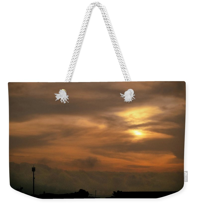Ahuachapan Weekender Tote Bag featuring the photograph Sunset Ahuachapan 6 by Totto Ponce