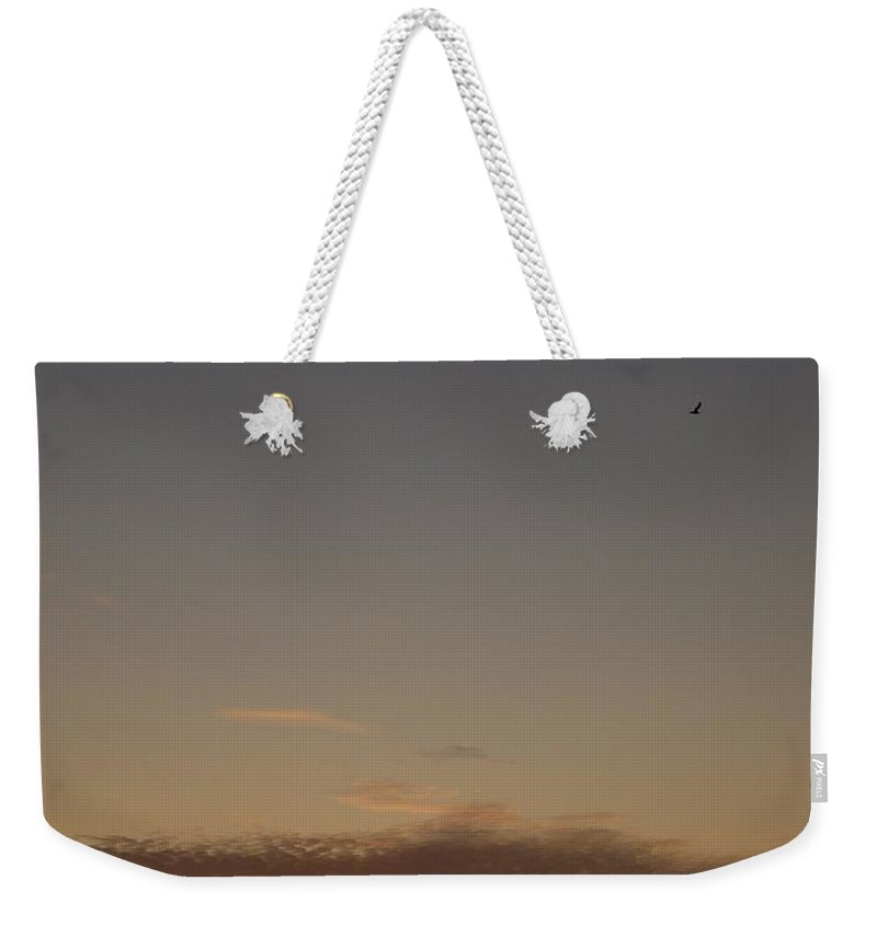 Lehtokukka Weekender Tote Bag featuring the photograph Sunset At The Gulf Of Bothnia 2 by Jouko Lehto