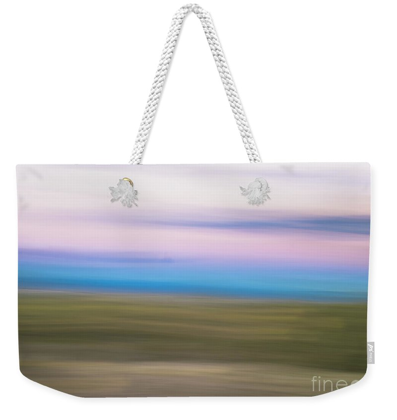 Natanson Weekender Tote Bag featuring the photograph Sunset Cerrillos by Steven Natanson