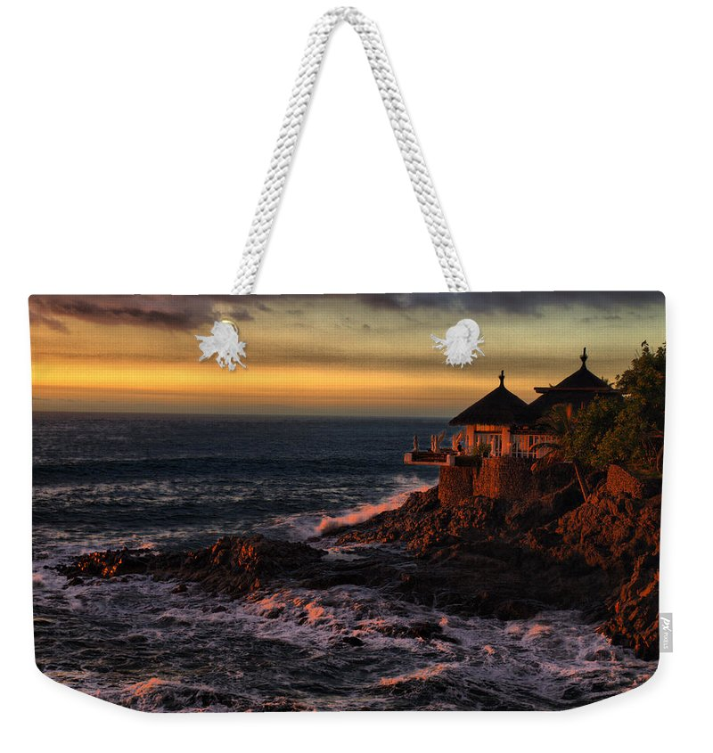 Spain Weekender Tote Bag featuring the photograph Sunset Hdr by Jouko Lehto
