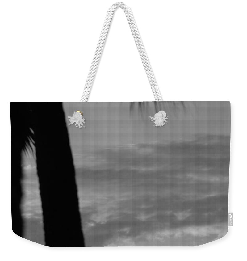 Black And White Weekender Tote Bag featuring the photograph Sunset In Black And White by Rob Hans