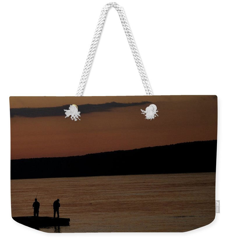 Sunset Weekender Tote Bag featuring the photograph Sunset by Snea Zemun