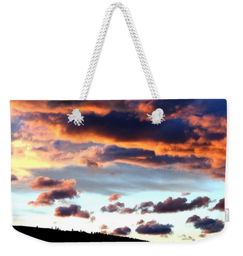 Sunset Weekender Tote Bag featuring the photograph Sunset Supreme by Will Borden