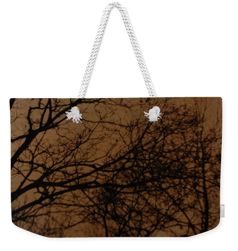 Landscape Weekender Tote Bag featuring the photograph Sunset Winter by Rob Hans