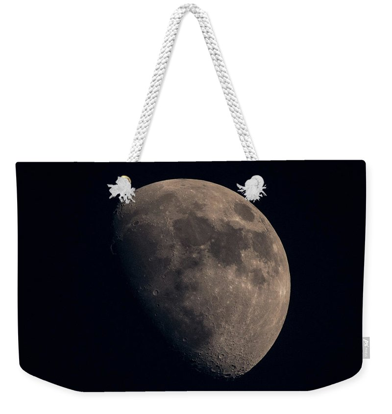 Moon; Supermoon; Nepal; Himalayas; Weekender Tote Bag featuring the photograph Super Moon by John Lillis