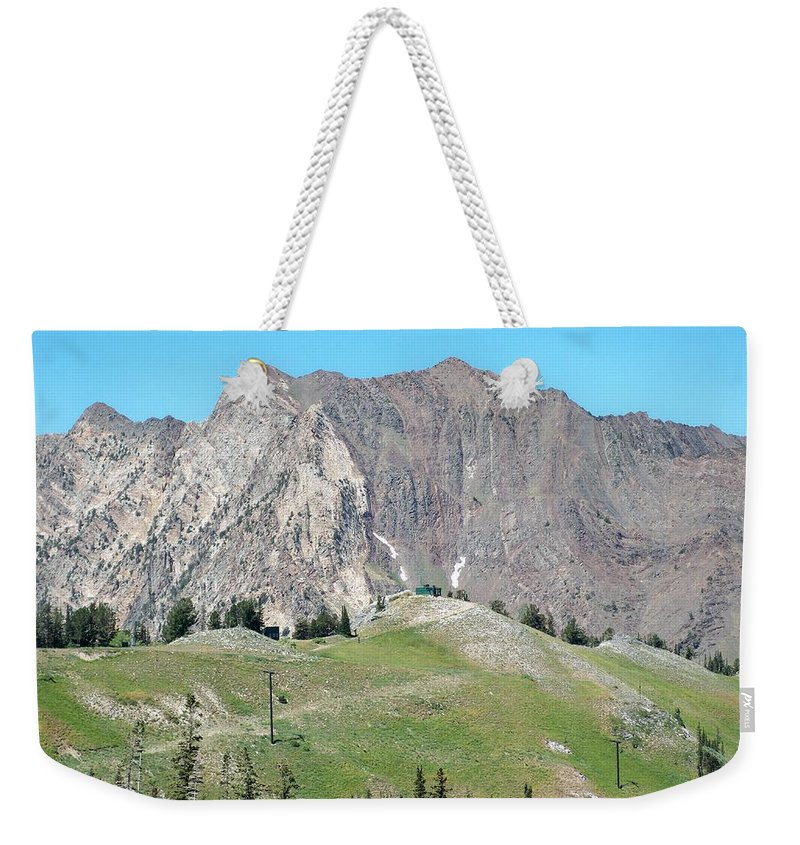 Landscape Weekender Tote Bag featuring the photograph Superior by Michael Cuozzo