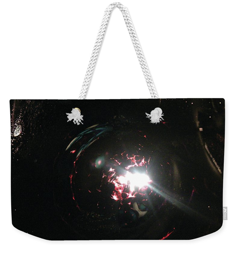 Supernova Weekender Tote Bag featuring the photograph Supernova by Alycia Christine