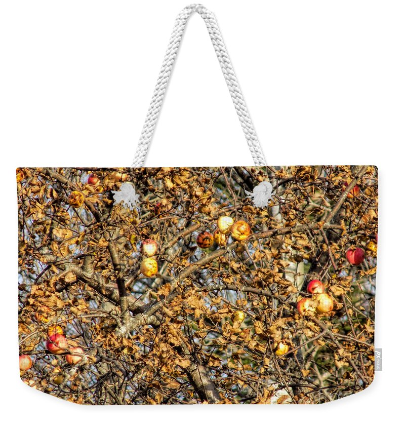 Apples Weekender Tote Bag featuring the photograph Supply And Demand by William Tasker
