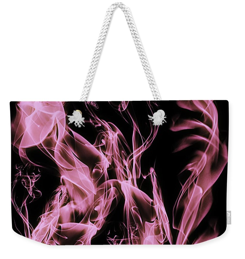 Clay Weekender Tote Bag featuring the digital art Support The Cure by Clayton Bruster