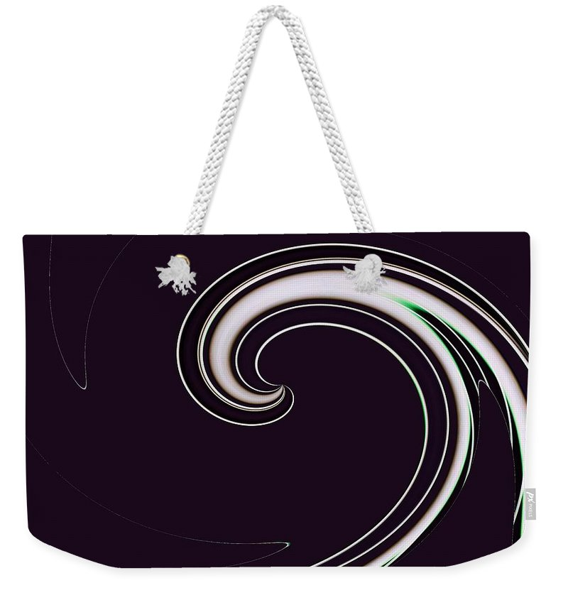 Surfs Up Weekender Tote Bag featuring the photograph Surfs Up 1 by Tim Allen
