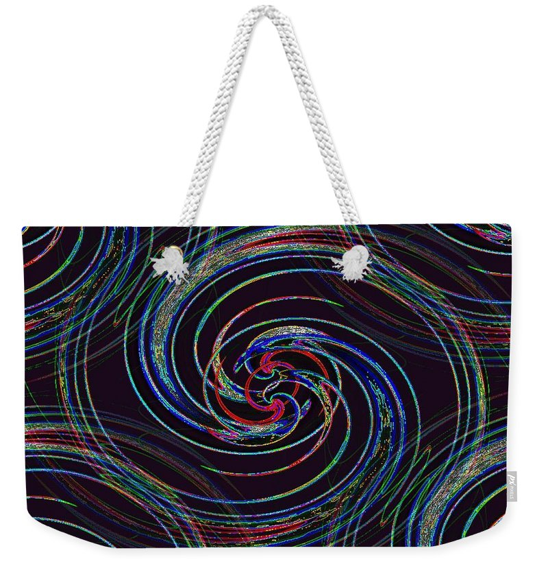 Surfs Up Weekender Tote Bag featuring the photograph Surfs Up 2 by Tim Allen