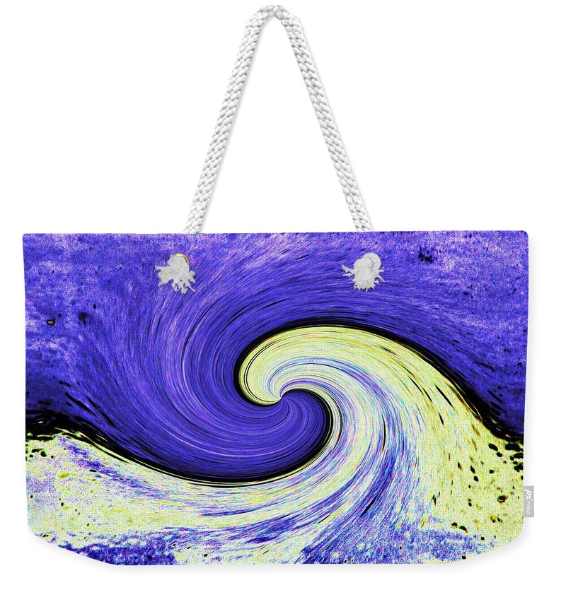 Surfs Up Weekender Tote Bag featuring the photograph Surfs Up 3 by Tim Allen