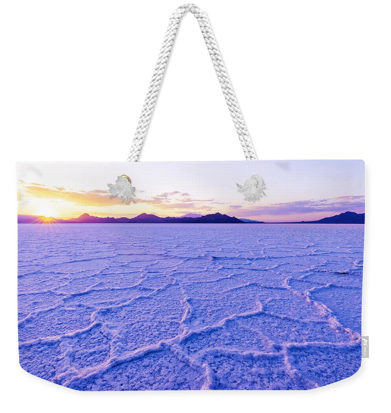 Utah Desert Weekender Tote Bags