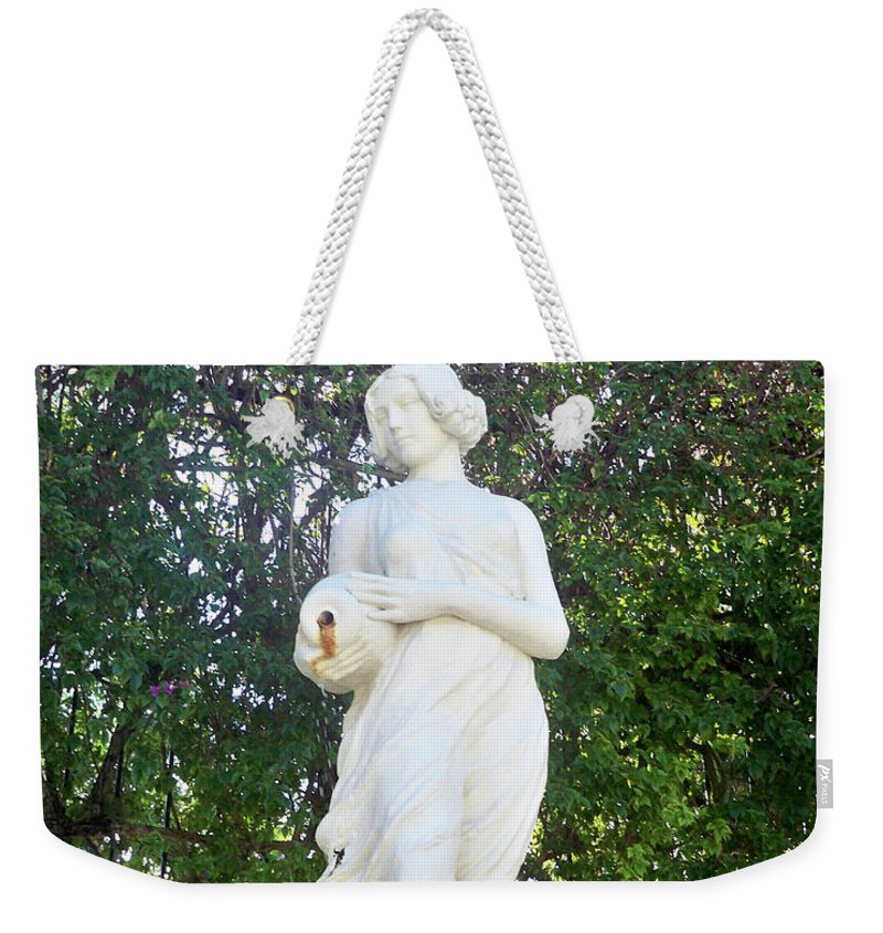 Florida Weekender Tote Bag featuring the photograph Suspended Beauty by Chris Andruskiewicz
