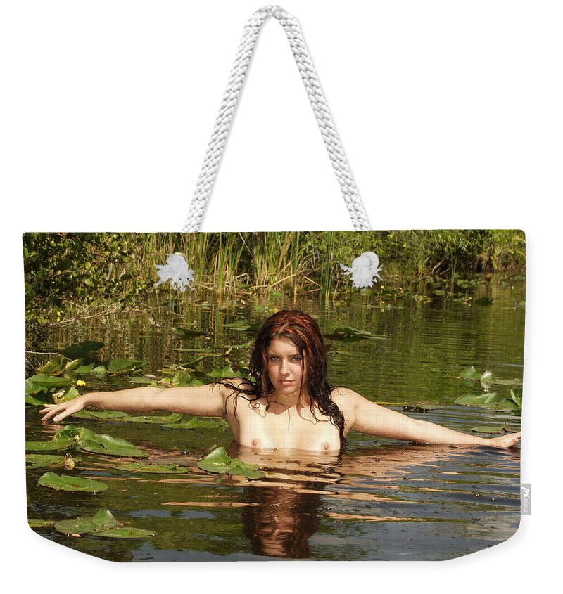 Lucky Cole Everglades Photographer Weekender Tote Bag featuring the photograph Swamp Beauty Two by Lucky Cole