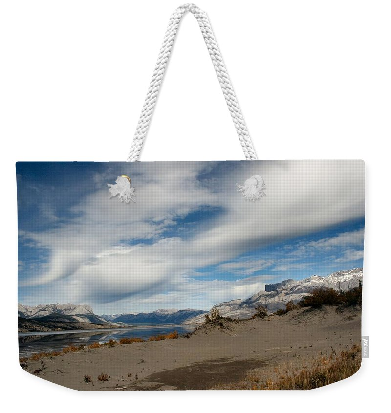 Landscape Weekender Tote Bag featuring the photograph Sweeping Skyscape by Doris Potter