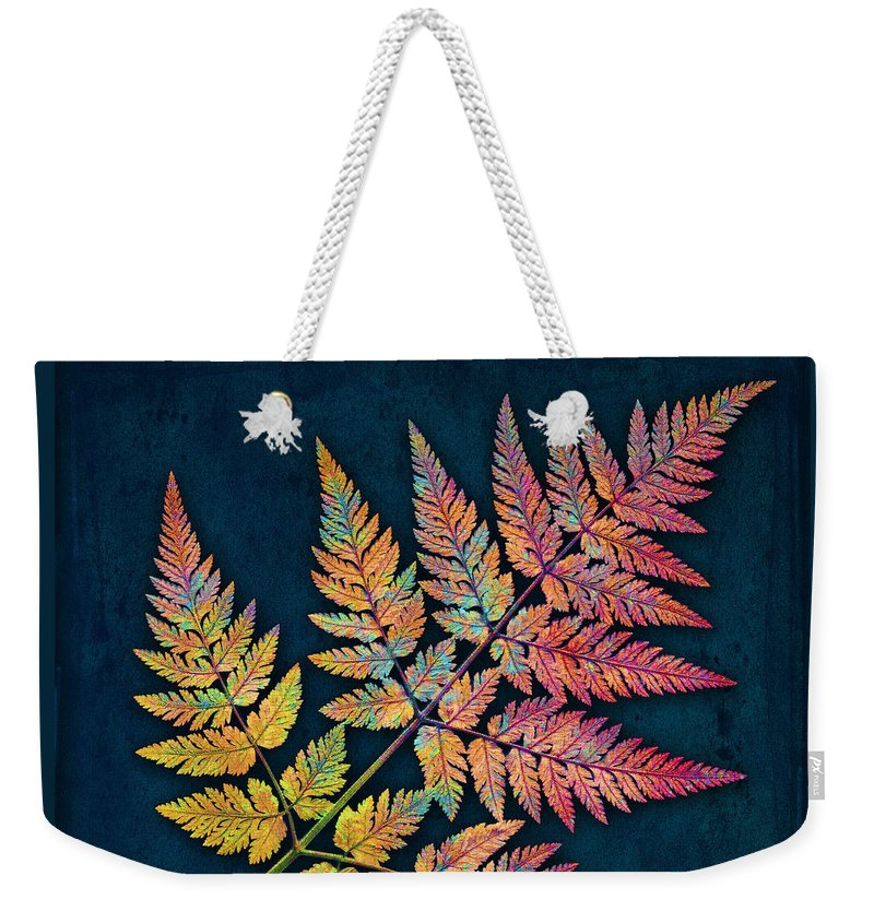 Leaf Weekender Tote Bag featuring the photograph Sweet Cicely by Digital Crafts