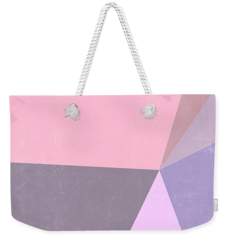 Violet Weekender Tote Bags