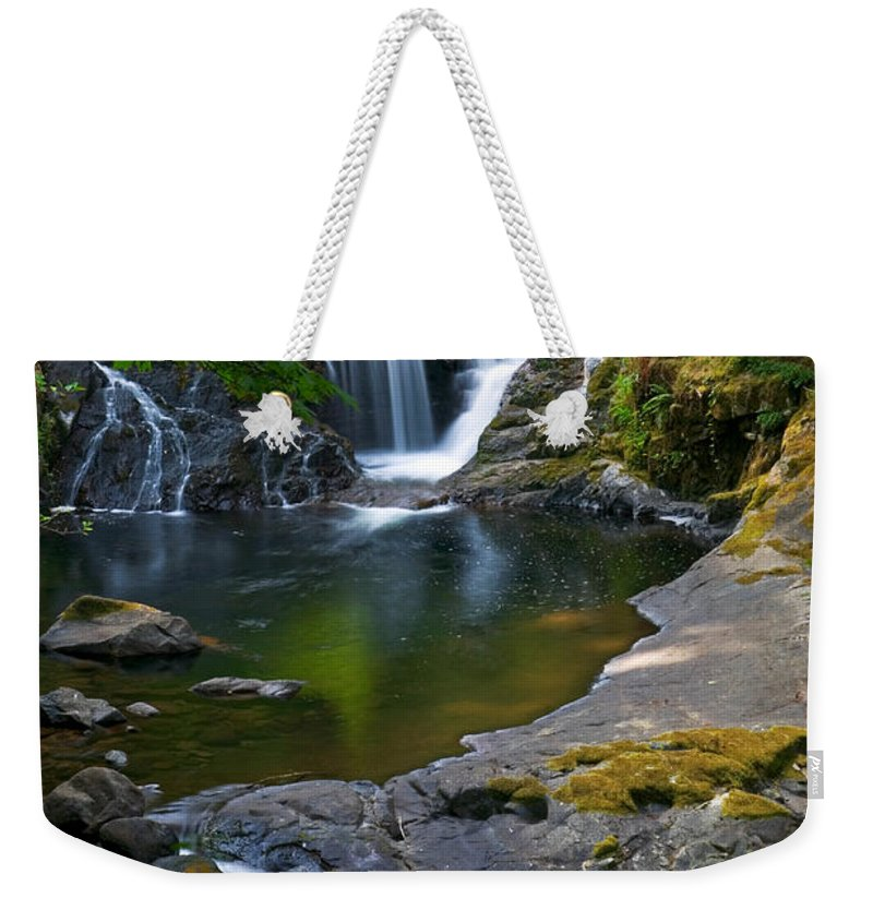 Creek Weekender Tote Bag featuring the photograph Sweet Creek by Randall Ingalls
