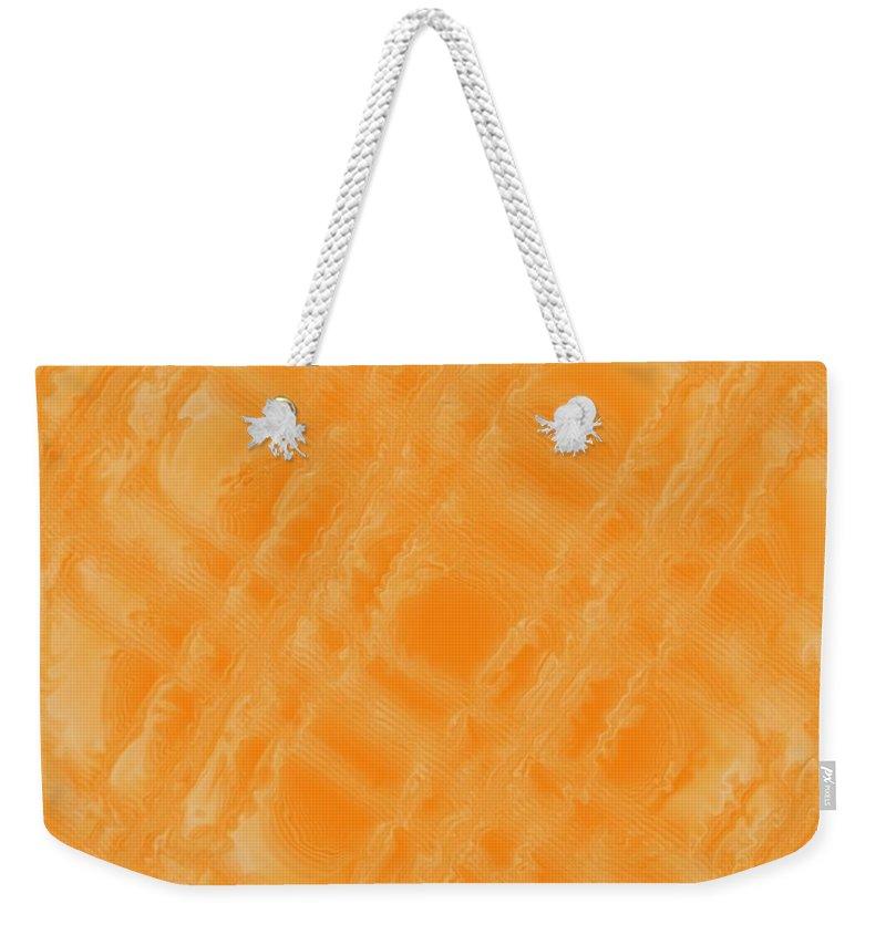 Digital Art Weekender Tote Bag featuring the digital art Sweetly Industrious by Pharris Art
