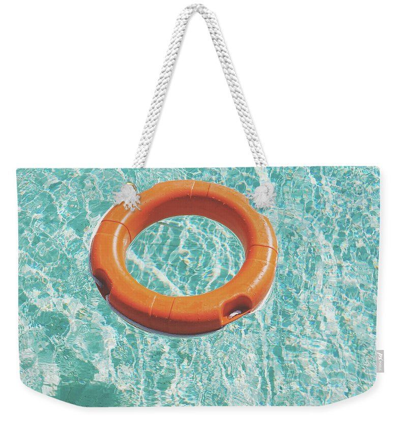 Water Weekender Tote Bag featuring the photograph Swimming Pool III by Cassia Beck