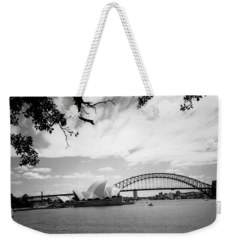 Australia Weekender Tote Bag featuring the photograph Sydney Harbour by Heike Hellmann-Brown