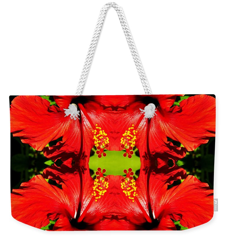 Clay Weekender Tote Bag featuring the photograph Symmetry by Clayton Bruster