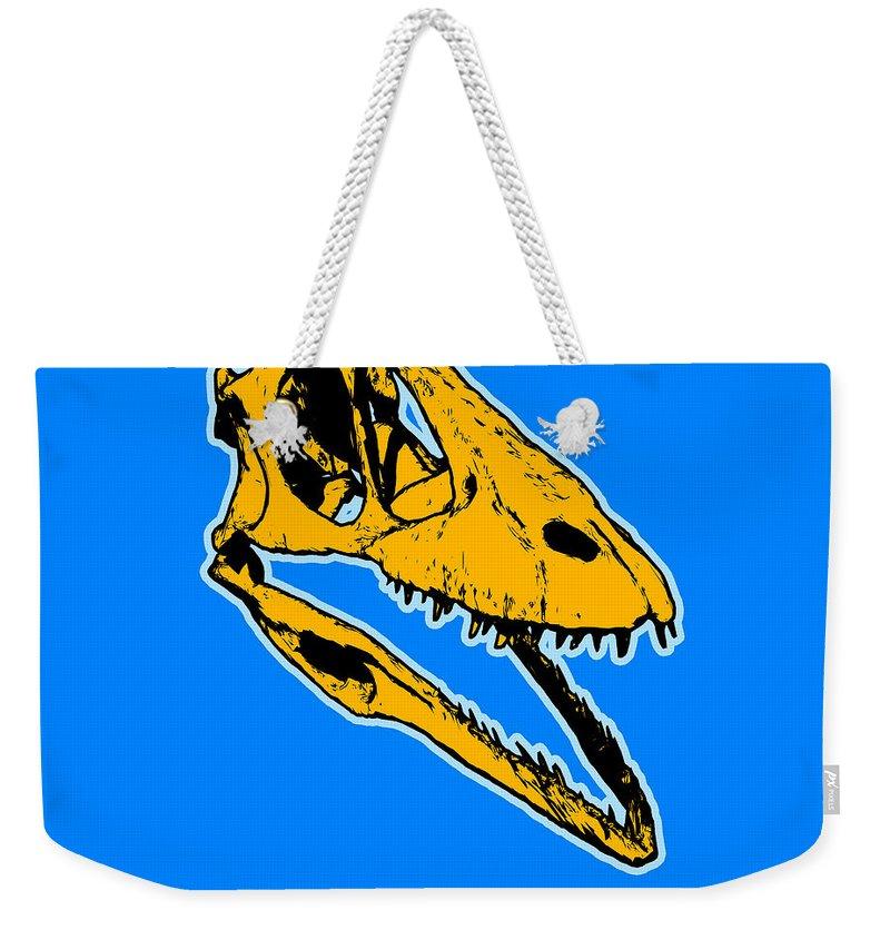 Dinosaur Weekender Tote Bags
