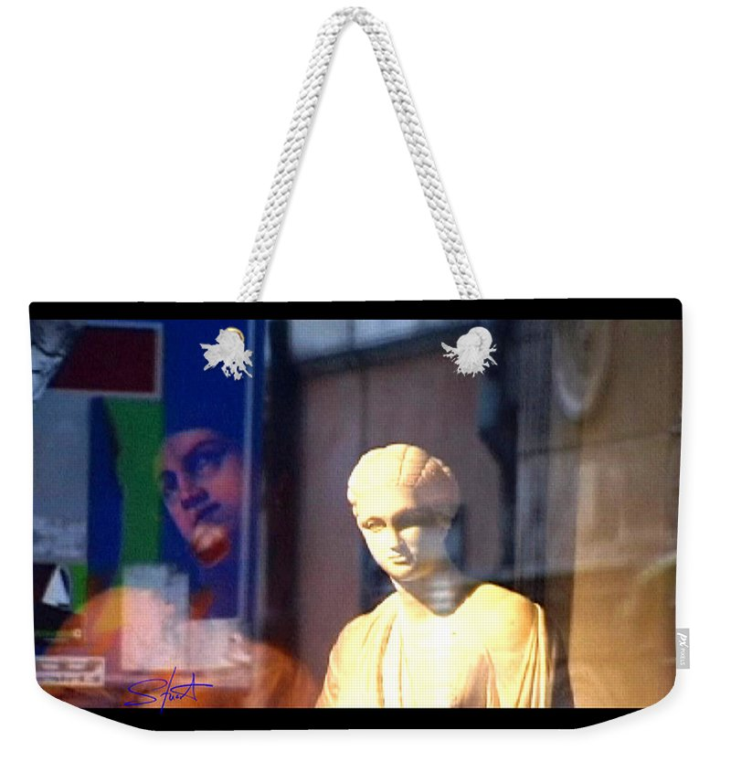 Rome Weekender Tote Bag featuring the photograph Tableau by Charles Stuart